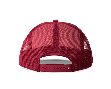 With these Back View Realistic Cap Mock Up In Merlot Beries Color templates you don't have to wait for your brand artwork to be done. Add your graphic into this HD Mock-up.