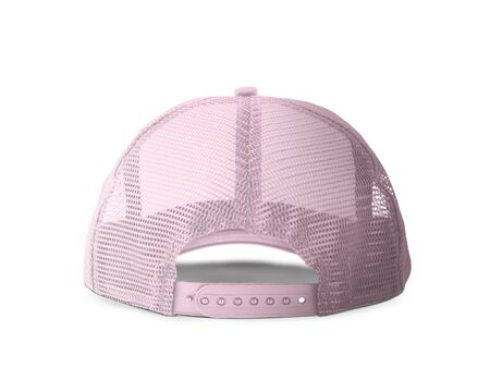 With these Back View Realistic Cap Mock Up In Rose Quartet Color templates you don't have to wait for your brand artwork to be done. Add your graphic into this HD Mock-up.