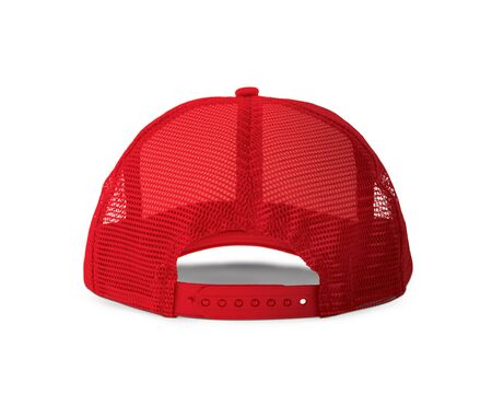 With these Back View Realistic Cap Mock Up In Valiant Poppy Color templates you don't have to wait for your brand artwork to be done. Add your graphic into this HD Mock-up.