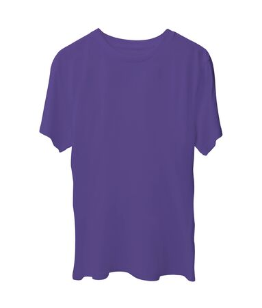 With these Short Sleeve Shirts Mock Up In Ultra Violet Color you can add your graphic logo and design like a graphic design pro