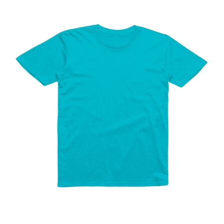 A blank Sweet Tshirt Mock Up in Scuba Blue Color to showcase your designs like a graphic design pro.