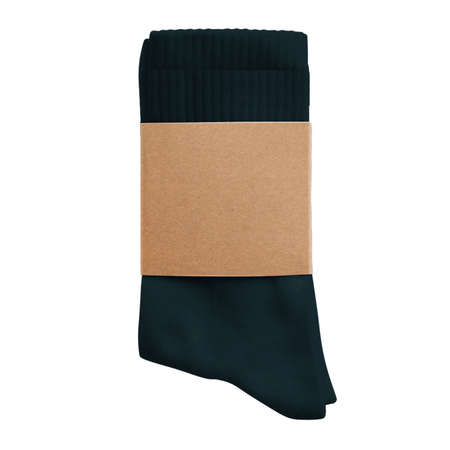 This Awesome Sock Mock Up In White Tofu Color is made to shorten your editing process.