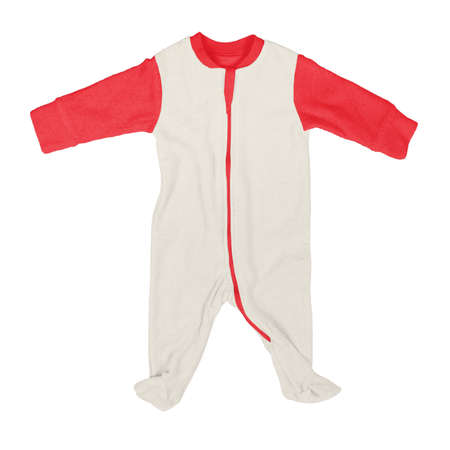 If you work on advanced, demanding designs and seek for realistic effects, this Front View Beautiful Baby Jumpsuit Mock Up In White Tofu Color will fulfill your needs.