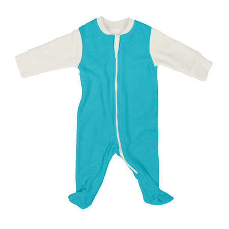 If you work on advanced, demanding designs and seek for realistic effects, this Front View Beautiful Baby Jumpsuit Mock Up In Scuba Blue Color will fulfill your needs.