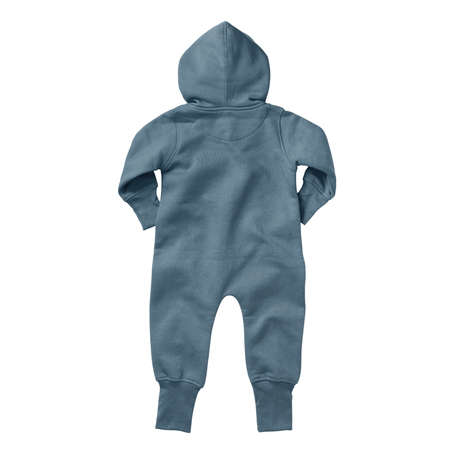 If you work on advanced, demanding designs and seek for realistic effects, this Back View Beautiful Baby Fleece Mock Up In North Atlantic Color will fulfill your needs.