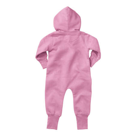 If you work on advanced, demanding designs and seek for realistic effects, this Back View Beautiful Baby Fleece Mock Up In Begonia Pink Color will fulfill your needs.