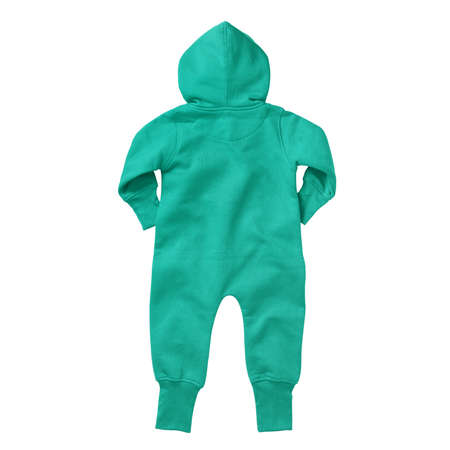 If you work on advanced, demanding designs and seek for realistic effects, this Back View Beautiful Baby Fleece Mock Up In Aqua Green Color will fulfill your needs.