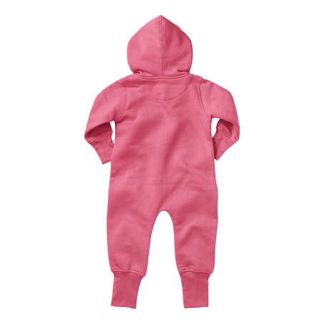 If you work on advanced, demanding designs and seek for realistic effects, this Back View Beautiful Baby Fleece Mock Up In Camellia Rose Color will fulfill your needs.