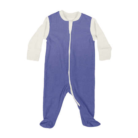 This Front View Sweet Baby Jumpsuit Mock Up In Royal Blue Color, is a perfect way to showcase your creations without having to spend a ton of money on individual products