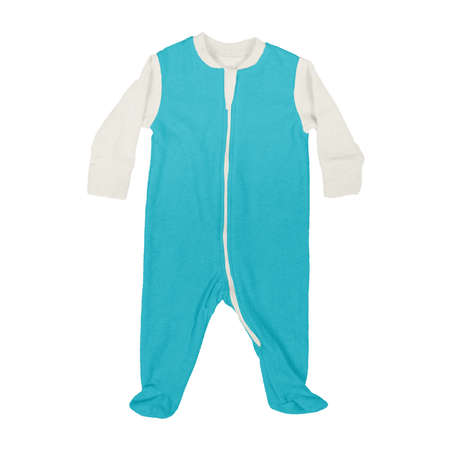 This Front View Sweet Baby Jumpsuit Mock Up In Scuba Blue Color, is a perfect way to showcase your creations without having to spend a ton of money on individual products Stok Fotoğraf