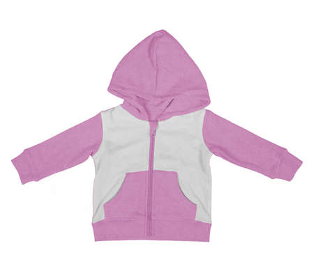 Get stylish photos and never lost your customers with this Premium Baby Zip Up Hoodie Mock Up In Royal Lilac Color.