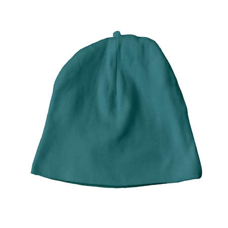 Cute Baby Hat Mock Up In Green Eden Color. Professional looking mockup to place your own design