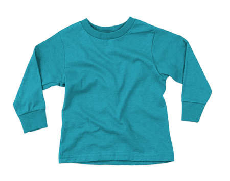 This Front View Amazing Toddler Longsleeve T Shirt Mokup In Blue Curacao Color, can help you to implement your extraordinary designs.
