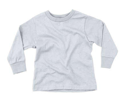 This Front View Amazing Toddler Longsleeve T Shirt Mokup In Bright White Color, can help you to implement your extraordinary designs.