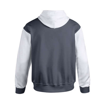Give a boost to your designing activity by using this Back View Creative Men's Hoodie Mockup In Dark Sapphire Color.