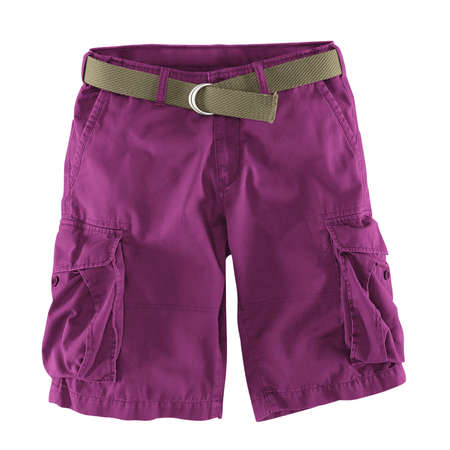 Add your logo design into this Front View Fantastic Men's Shorts Mockup In Radiant Orchid Color as much as you like, you can customize everything you like.