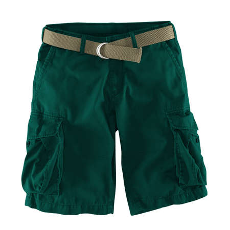Add your logo design into this Front View Fantastic Men's Shorts Mockup In Alpine Green Color as much as you like, you can customize everything you like.