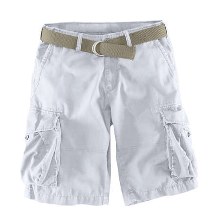 Add your logo design into this Front View Fantastic Men's Shorts Mockup In Lucent White Color as much as you like, you can customize everything you like.