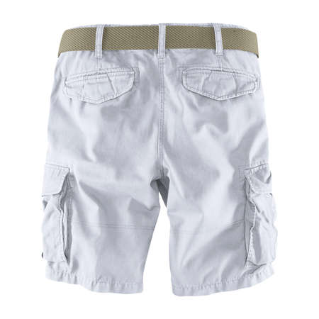 Showcase your designs like an expert with this Back View Fantastic Men's Shorts Mockup In Lucent White Color. Customize everything you need.