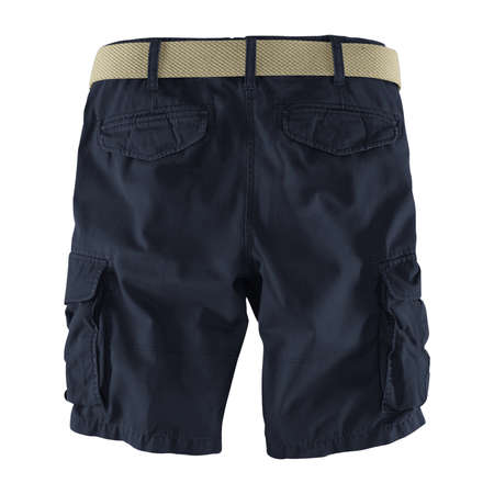 Showcase your designs like an expert with this Back View Fantastic Men's Shorts Mockup In Dark Sapphire Color. Customize everything you need.