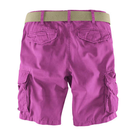 Showcase your designs like an expert with this Back View Fantastic Men's Shorts Mockup In Radiant Orchid Color. Customize everything you need.
