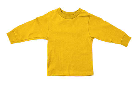 Jump straight into creating lovely pictures for your design, with this Front View Impressive Toddler Longsleeve T Shirt Mokup In Cyber Yellow Color.