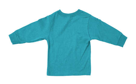 Just put your artwork on this Back View Impressive Toddler Longsleeve T Shirt Mokup In Blue Curacao Color, and your baby t shirt is ready for sale.