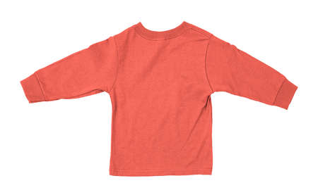 Just put your artwork on this Back View Impressive Toddler Longsleeve T Shirt Mokup In Fusion Coral Color, and your baby t shirt is ready for sale.