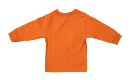 Just put your artwork on this Back View Impressive Toddler Longsleeve T Shirt Mokup In Flame Orange Color, and your baby t shirt is ready for sale. Stockfoto