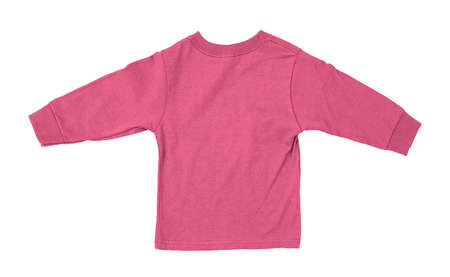 Just put your artwork on this Back View Impressive Toddler Longsleeve T Shirt Mokup In Pink Cosmos Color, and your baby t shirt is ready for sale. Stockfoto