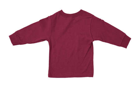 Just put your artwork on this Back View Impressive Toddler Longsleeve T Shirt Mokup In Cherries Jubilee Color, and your baby t shirt is ready for sale. Stockfoto