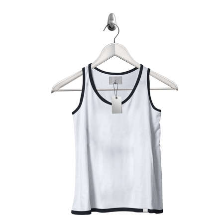 Use this Front View Classical Tank Top Mockup In Lucent White Color With Hanger, to get more wonderful design products. Stockfoto