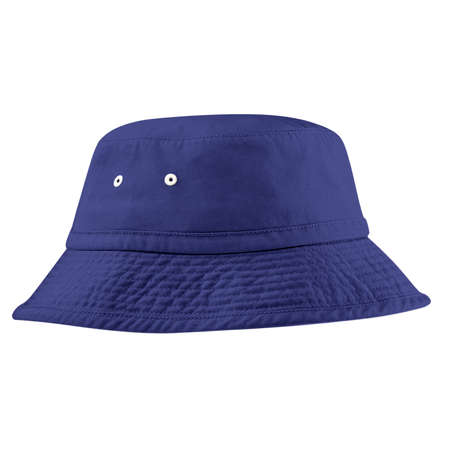 This high resolution Side View FantasticBucket Hat Mockup In Clematis Blue Color will make your designing work as photo realistic result in mere minutes. Imagens