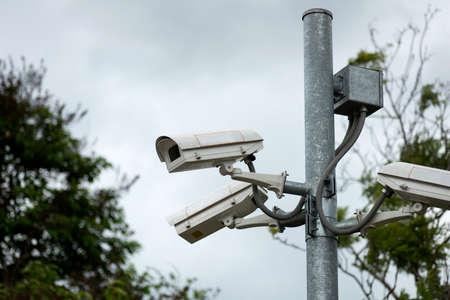 security surveillance cameras photo