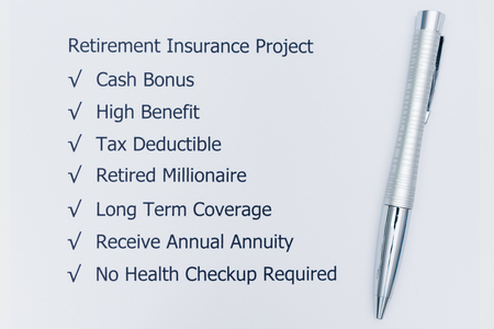 Benefits of Planning for Retriement Insurance Project.