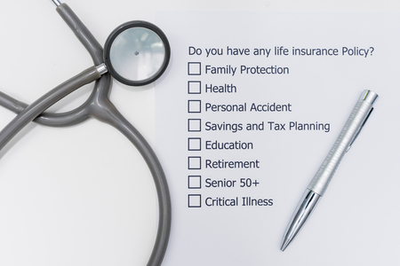 Do you have any life insurance policy? It's A question to answer for the future of your own.