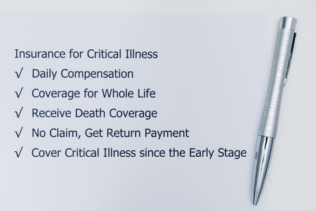 Benefits of doing Insurance for Critical Illness.