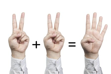 hand symbol number photo