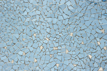 Broken tiles (trencadis) pattern photo