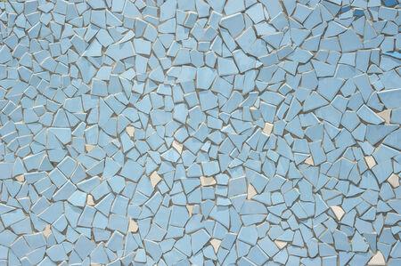 Broken tiles (trencadis) pattern photo