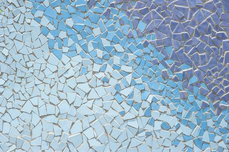 Broken tiles (trencadis) pattern
