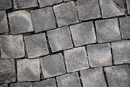 cobblestone: Cobblestone square rock topview