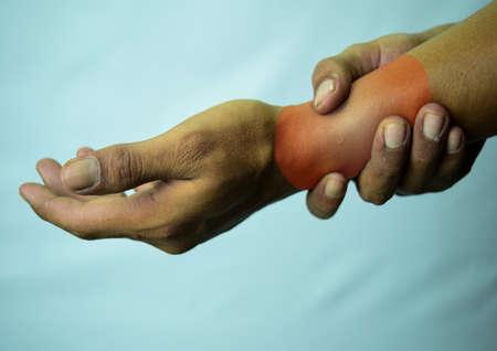 Leiden an einer Verletzung durch wiederholte Belastung