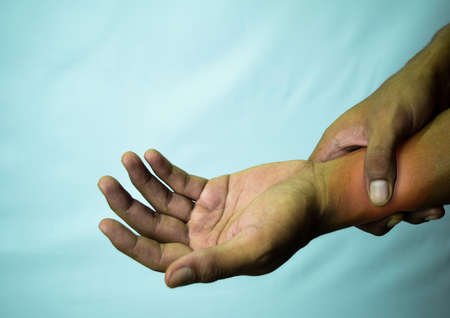 Suffering relieving repetitive strain injury