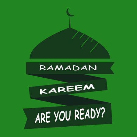 Ramadan Kareem Are You Ready?. islamic design mosque dome