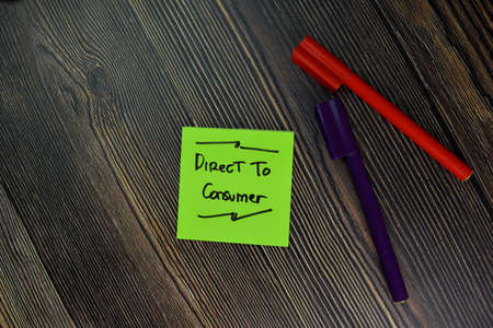 Opt In or Opt Out text on sticky notes with office desk