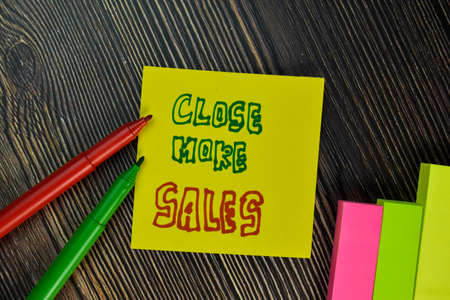 Explore Your Options write on sticky note isolated on Wooden Table.