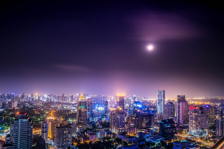johannesburg: urban city view of cityscape on night view,lanscape photo