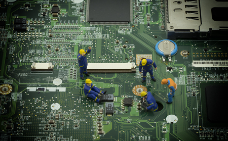 mainboard: mini technician team still resove a problem on mainboard - can use to display or montage on product