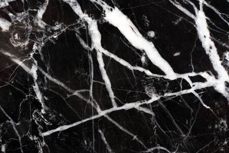 black marquina marble pattern texture on high resolution background for business design Stock Photo